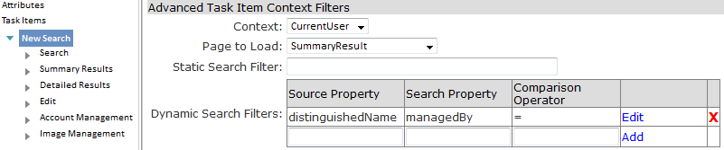 CurrentUser Context of PeopleSearch and PeopleUpdate